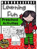 Learning Fun Preschool Activities Worksheets