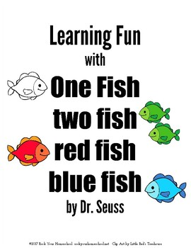 Learning Fun With One Fish Two Red Blue
