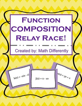 Learning Function Composition through Relay Races with Task Cards