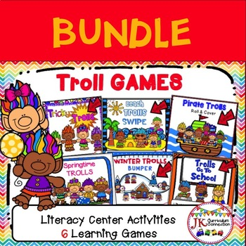 Learning Game Bundle - TROLL Themed Games