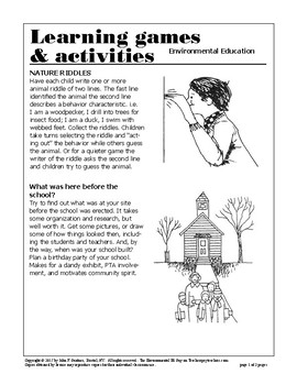 #2 Learning Games & Activities