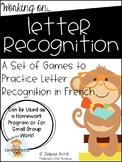 Letter Recognition Games in French
