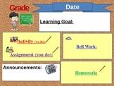 Learning Goal Agenda