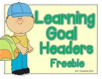 Learning Goal Headers