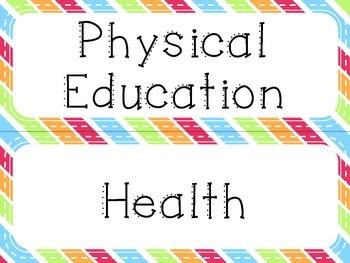Learning Goal Headers {Rainbow} - Ontario Curriculum