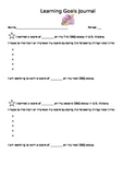 Learning Goal Journal for DBQ Writing