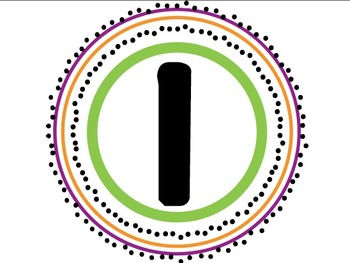 """Learning Goal Letters for Classroom """"I can"""" Bulletin Board Purple/Green"""
