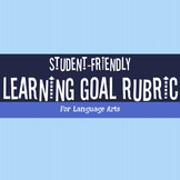 Learning Goal Rubric for Language Arts