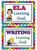 Learning Goal Signs for Peanuts Snoopy Theme Classroom