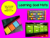 Learning Goal Tracking Mats - Editable