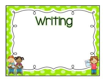 Learning Goals Board- Polka Dot