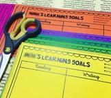 Learning Goals Desk Plate