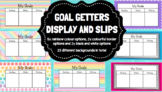 Goal Getter Learning Goals (Visible Learning Goal Setting)