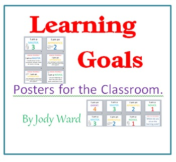 Learning Goals Posters for the Classroom