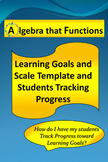 Learning Goals, Scale Template & Students Track Progress