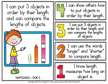 Learning Goals and Scales - 1st Grade Math - MD for Florida (2 Sizes)