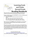 Learning Goals and Scales Reading for Second Grade