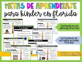 Learning Goals for Science and Social Studies (Florida Sta