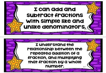 Learning Goals in Math - Grade 7