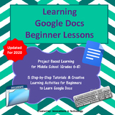 Learning Google Docs - Beginner Lessons