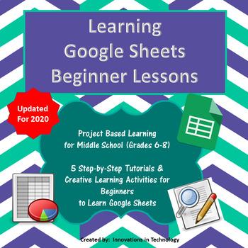Learning Google Sheets - Beginner Lessons