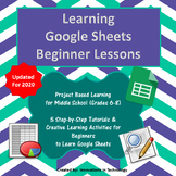 Learning Google Sheets - Beginner Lessons