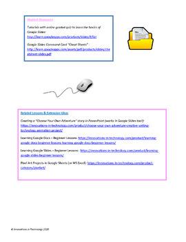 Learning Google Slides - Beginner Lessons