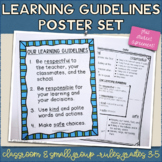 Learning Guidelines/Classroom Rules Posters