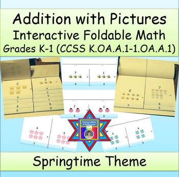 Learning How To Add With Pictures (An Interactive Foldable)
