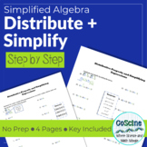 Learning How To Distribute and Simplify