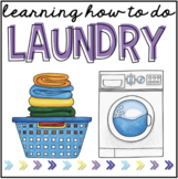 Learning How to Do Laundry { 3 centers with visuals! }