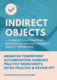 Learning Indirect Objects - Complete Spanish Lesson