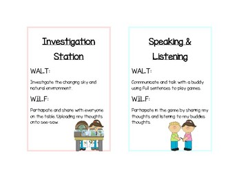 Learning Intention Display L3