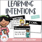 Learning Intention {I can statements}