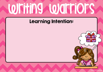 Learning Intention Posters ~ Miss Mac Attack ~