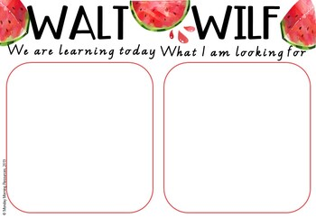 Editable Learning Intention and Success Criteria Posters - Summer Theme