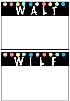 Visible Learning Display Bundle WALT/WILF TIB/TMB PASTEL