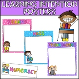 Learning Intentions Posters