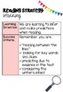 Learning Intentions - Reading Strategies