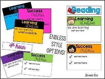 Learning Intentions and Success Criteria Made EASY