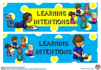Learning Intentions - chart titles