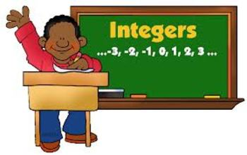 Learning Intentions for Integers