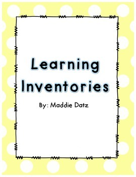 Learning Inventories