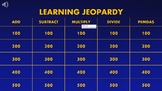 Learning Jeopardy