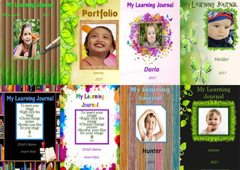 Learning Journal/Portfolio Covers