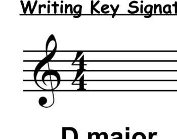 Learning Key Signatures