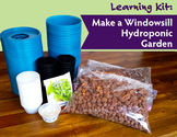 Learning Kit: Make a Windowsill Garden | Intro to Hydroponics for 25 (HARD GOOD)