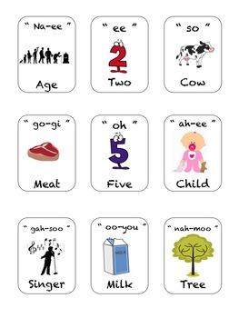 Learning Korean: CV Sight Words