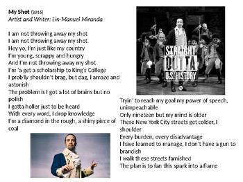 Learning Language and Imagery through Rap and Poetry (PPT Lyrics)