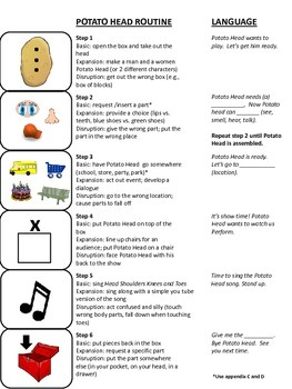 Learning Language through Play Routines (autism resource)